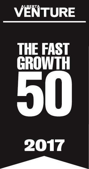 Alberta Venture. The fast growth 50 for 2017. The IT Company is one of the fast growth 50 of Alberta for 2017 winners.